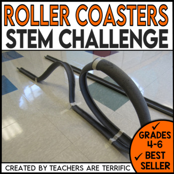Stem Roller Coasters Challenge By Teachers Are Terrific Tpt