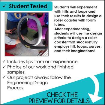 stem roller coasters challenge by teachers are terrific tpt. Black Bedroom Furniture Sets. Home Design Ideas