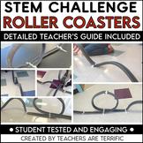STEM Challenge Roller Coasters