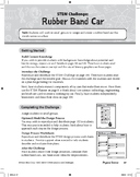 STEM Challenge: Rubber Band Car (Science Concept: Potential and Kinetic Energy)