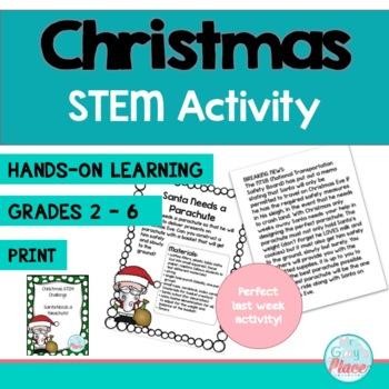STEM Challenge - Santa Needs a Parachute