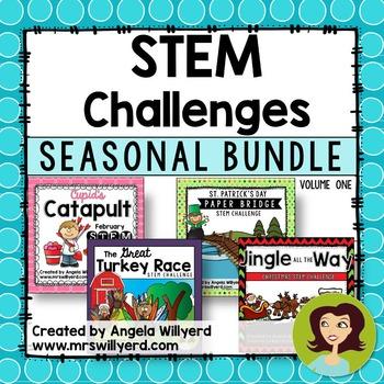 STEM Challenge Seasonal Bundle, Volume 1 - Grades 3-5 - SM
