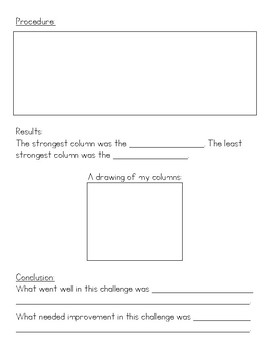 STEM Challenge: Shape Columns