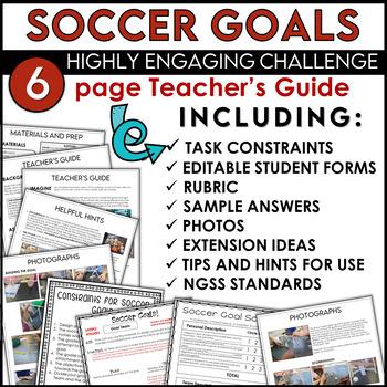 STEM Soccer Goal and Goalie Challenge