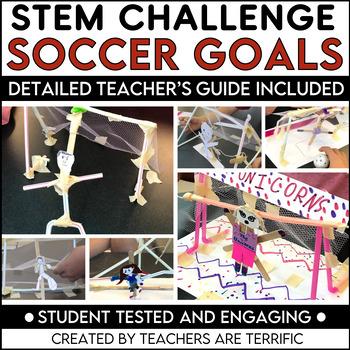 STEM Challenge Soccer Goal and Goalie