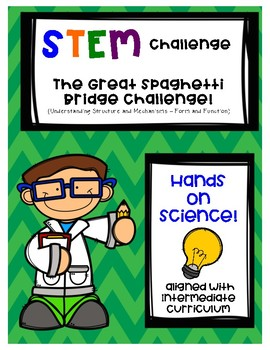 STEM Challenge - Spaghetti Bridge - Structures and Forces