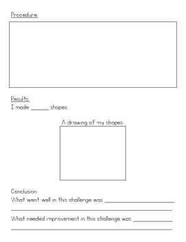 STEM Challenge: Stick Shapes