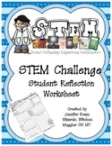 STEM Challenge Student Reflection (Worksheet)