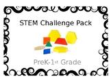 STEM Challenge Task Cards - Learning Tubs - Pattern Blocks - Bridge Building
