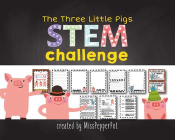 STEM Challenge, The Three Little Pigs