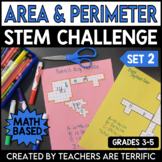 STEM Using Perimeter and Area Challenge