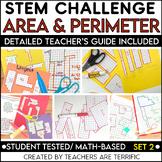 STEM Using Perimeter and Area Challenge