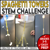 STEM Challenge Tower With Spaghetti