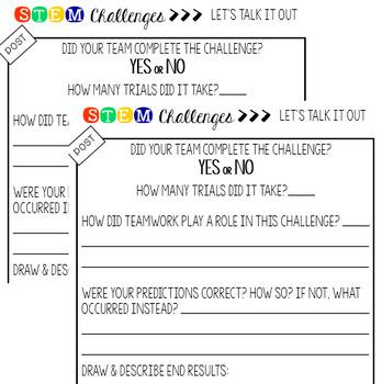 STEM Challenge - Water Slide