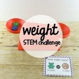 STEM Challenge: Weight Measurement