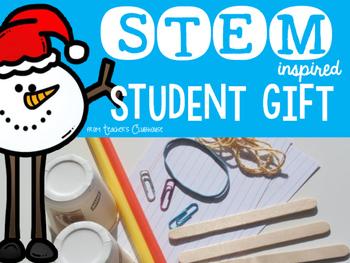 STEM Challenge {Winter Break Gift}