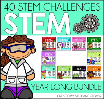 STEM Challenges (YEAR LONG BUNDLE)