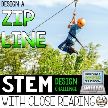 STEM Challenge - Zip Line Design Activity