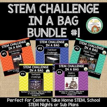 STEM Challenge in a Bag Bundle 1