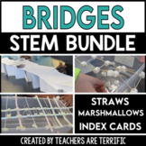 STEM Activities Challenge Bundle featuring Bridges