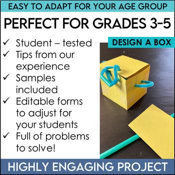 STEM Activities Challenge Bundle about Volume