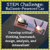 STEM Challenges: Balloon-Powered Car STEM Activity: Science, Engineering, Math
