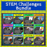 STEM Challenges Bundle ⭐ 12 STEM Activities ⭐ Science, Tech, Engineering, Math