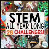 STEM Challenges - STEM Activities All Year Long!   Distanc