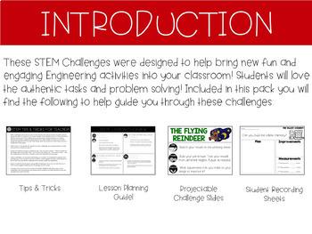 STEM Challenges (DECEMBER)