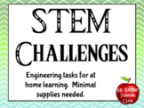 STEM Challenges - Distance Learning