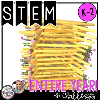 STEM Challenges For the Whole Year Bundle K-2