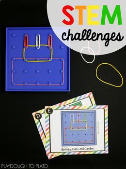 STEM Challenge: Geoboards