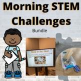 STEM Challenges | Morning work | Value BUNDLE