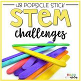 STEM Challenges Popsicle Sticks