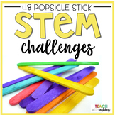 STEM Challenges {Popsicle Sticks}