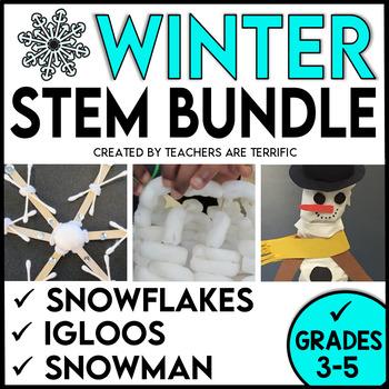 Winter STEM Challenges Bundle