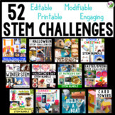 STEM Challenges: Year-Round Mega Bundle Includes End of Year STEM
