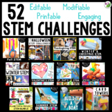 STEM Challenges and Activities Mega Bundle with Back to Sc