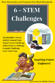 STEM Challenges and the Engineering Design Process in Action