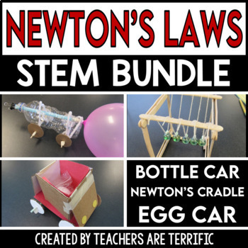 STEM Newton's Laws of Motion Bundle