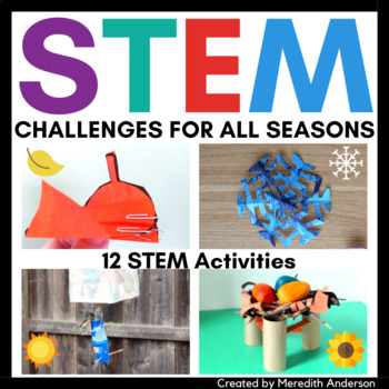 STEM Challenges STEAM Activities for All Seasons BUNDLE