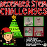 Christmas STEM Challenges - Winter STEM