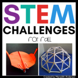 STEM Challenges and STEAM Activities for Fall