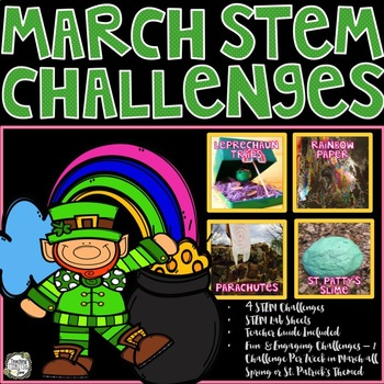 STEM Challenges for St. Patrick's Day, Spring, or March