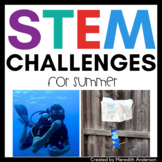 Summer STEM / End of the Year STEM Challenges