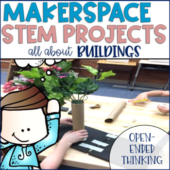 STEM Challenges for Thematic Units GROWING BUNDLE {Buildings}