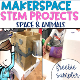 STEM Makerspace Activities FREEBIE