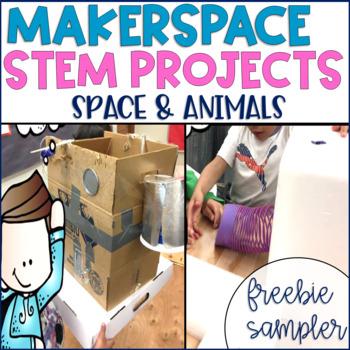 STEM Makerspace Activities FREEBIE