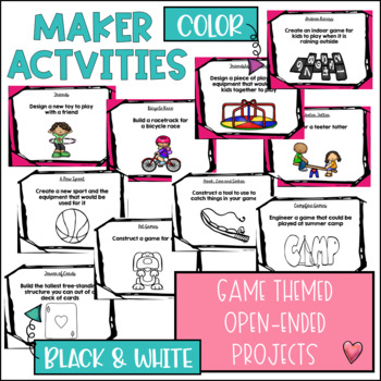 STEM Challenges for Thematic Units {Games}