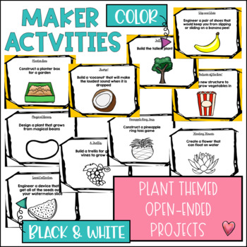 STEM Makerspace Activities GROWING BUNDLE {Plants}